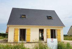 La #maison de Tiffany et Nicolas en Normandie - modèle NOCTUELLE de la gamme HOME CHRYSALIDE #House #MaisonsPierre #Maison