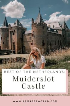 Muiderslot Castle: The Best Amsterdam Castle - SSW. Travel Tips For Europe, Travel Destinations, Travel Couple, Family Travel, See World, Chateaus, Medieval Castle, Best Cities, European Travel