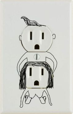 Outlets can have fun too