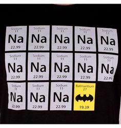 T-shirt Batman Na Sodium Batmantium - XXL - Boutique officielle DC Comics Gotham City, Batman T-shirt, Dc Comics, Boutique, Licence, Company Logo, T Shirt, Yellow Background, Paris Fashion
