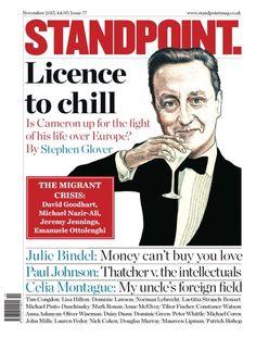 Magazine Cover: Standpoint (UK), November 2015 - David Cameron