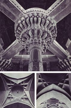 From the 1970 book, Living Architecture: Islamic Indian, by Andreas Volwahsen.