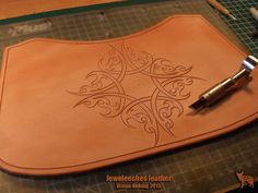 >>> Jeweleeches Vivian Hebing- At the pic busy with a handbag of natural tanned leather! Of course there will be my own handmade glass cabochon/ 'eye' in it!  It's my own design, please do not copy!  Do you want to see more of my work, find me on facebook or Etsy too!