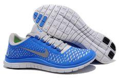 Nike Free Run 3.0 V4 Zapatillas para Hombre Soar/Reflexionar Plata-Puro Platino http://www.esnikerun.com/