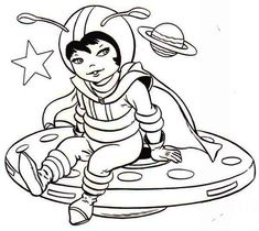 Alien Meeting An Astronaut Coloring Pages from Astronaut Coloring Pages. Astronaut coloring pages will tell about the men who specialize in flights outside the Earth's atmosphere. The expeditions give the pieces of informat. Space Coloring Pages, Moon Coloring Pages, Preschool Coloring Pages, Mermaid Coloring Pages, Free Coloring Sheets, Online Coloring Pages, Coloring Pages To Print, Printable Coloring Pages, Coloring Pages For Kids