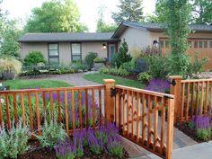 Front yard ideas - love the color scheme