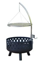 "Outsunny 24"" Round Barbecue Grill Fire Pit for $60  free shipping #LavaHot http://www.lavahotdeals.com/us/cheap/outsunny-24-barbecue-grill-fire-pit-60-free/194963?utm_source=pinterest&utm_medium=rss&utm_campaign=at_lavahotdealsus"