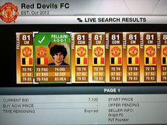 9/15/13 FIFA 13 ultimate team buying Fellaini