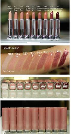 Maybelline Buffs Collection