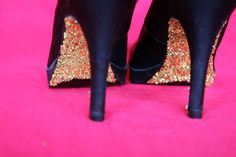 DIY Glitter Heels: Add Some Sparkle to Your Step - Brit & Co. - Style--Love the look for a special occasion