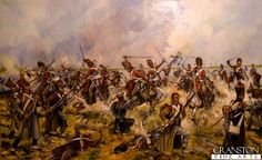 The Charge of the Scots Greys at Waterloo - Sgt Ewart Captures the French Eagle by Jason Askew.