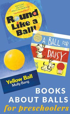 Whether you are doing a ball themed unit or have a preschooler excited about balls, these preschool books about balls will be a great catch. Preschool Literacy, Preschool Books, Basketball Books, Good Books, Books To Read, Gail Gibbons, Wordless Book, Mo Willems, Get Reading