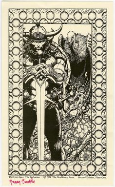 Barry Windsor-Smith ~ the Four Ages of Conan