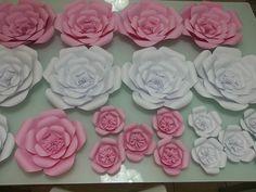 Como fazer flores gigantes de papel para compor sua decoração   Inspire sua festa