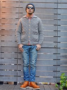 INVERALLAN (インバーアラン) 3A LUMBER CARDIGAN https://etoffe.net/items/show/2003840