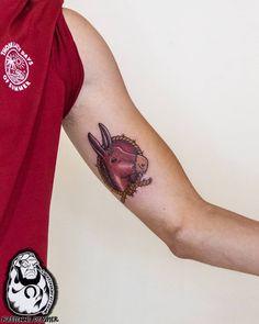Een ezel met de naam Struik. Ter herinnering aan zijn opa. Thanks Gerrit! Charm Tattoo, Lucky Charm, Tattoos, Tatuajes, Tattoo, Japanese Tattoos, A Tattoo, Tattoo Designs, Tattooed Guys