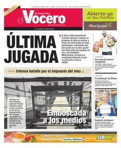 Edición 15 de Junio 2015  El Vocero de Puerto Rico
