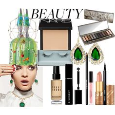 Mix Beauty by coppin-s on Polyvore featuring beauty, NARS Cosmetics, Urban Decay, Kevyn Aucoin, Givenchy, tarte, Bobbi Brown Cosmetics, Stila, Lancôme and Kenneth Jay Lane