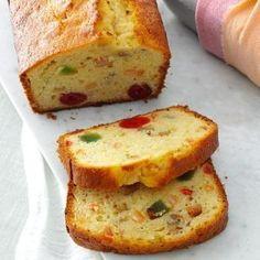 Eggnog Fruit Bread