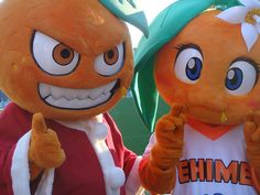 adorable japanese sports mascots