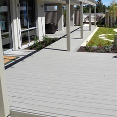 Light color WPC floor easy to install maintenance-free www.coowinmall.com  #wpc#wpcdeck#deck#decking#outdoordecking#floor#outdoorflooring