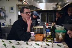 Chef Noah Schwartz hosts dinner at James Beard House...Link to North Forker, Jedediah Hawkins in Jamesport and other places to stay out east.