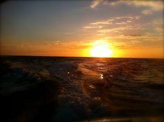 sunset over charlotte harbor