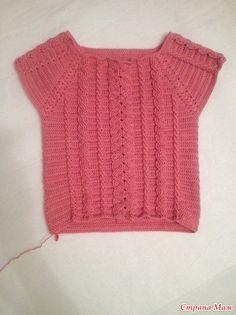 Free Crochet, Crochet Top, Tapestry Crochet Patterns, Crochet Books, Crochet Clothes, Tartan, Pullover, Knitting, Crocheting