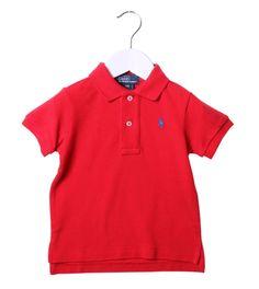 Ralph Lauren Red Classic Polo Shirt