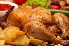Brathähnchen – knusprig gebraten im Römertopf Gegrilltes Brathähnchen mit Gemüse ist ein köstliches Schlemmergericht, was meist klein und groß schmeckt und sich auch als Festschmaus eignet. Gestern habe ich mal ausprobiert, wie sich ein frisches Bio-Hähnchen im Römertopf in ein leckeres Essen verwandeln lässt! Prädikat: umwerfend! http://einfach-schnell-gesund-kochen.de/brathaehnchen-knusprig-gebraten-im-roemertopf/
