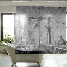 Brooklyn Bridge Shower Curtain