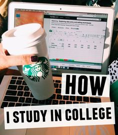 How I Study: College Edition - Brooke Miccio Study College, College Life, College Survival Guide, University Tips, College Success, College Essentials, College Planning, College Organization, Student Life