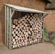 Image result for chopped wood storage