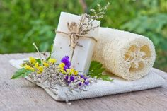 Esponja natural de luffa Loofa natural sponge