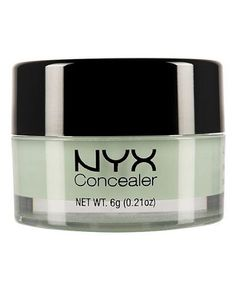 Going Green: A Lesson In Green Concealer And How To Use It // NYX concealer is my favorite concealer product by far! Nyx Makeup, Skin Makeup, Beauty Makeup, Makeup Geek, Makeup Brushes, Nyx Cosmetics, Beauty Care, Beauty Hacks, Beauty Tips