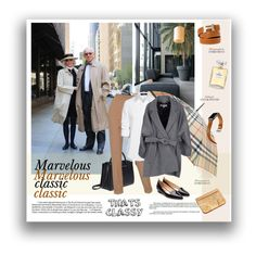 """Marvelous classic"" by vinograd24 ❤ liked on Polyvore featuring Burberry, The Row, Chanel, Rupert Sanderson, Hermès, Steffen Schraut, Kenzo and Betty and Betts"