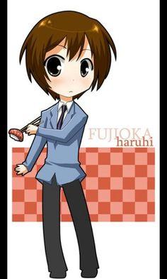 Ouran High school Host Club Chibi Haruhi