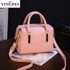 91502691f2 YINGPEI Women Messenger Bags Leather Shoulder Bag Ladies Handbags 2018 New Purse  Satchel Bolsas Fashion Tote