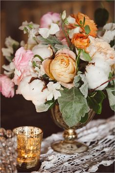 Soft Southern wedding ideas with a rustic feel. #weddingchicks Captured By: Amelia + Dan Photography http://www.weddingchicks.com/2014/08/22/blush-beauty-southern-wedding/