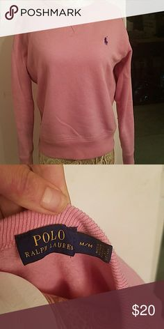 POLO sweatshirt fits more like a small. fall 2017 Ralph Lauren Sweaters Crew & Scoop Necks