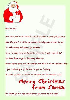 1000 images about Santa Letters on Pinterest #1: df2e529e9f1eb623b046fbc65b8f3baf
