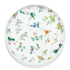 A famille-rose enamelled 'flower and fruit' dish, Daoguang seal mark and period