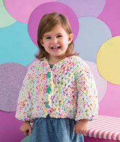 Button Up Toddler Cardie