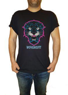wild cat man tshirt