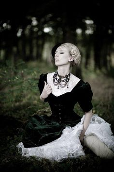 Gothic Fashion SteamPunk Couture. Darkly, deeply romantic gothic fashion! Compliment your gothic style at http://www.designyourownperfume.co.uk with a seductive and unique custom made perfume - choose from over 70 exciting scents; from the floral and delicate to the hypnotic, the exotic, and the strange and quixotic.#gothic fashion