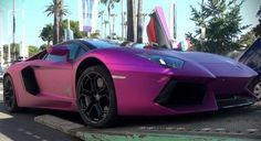 066890aed1 What could be more beautiful than a fuchsia Lamborghini  Vroom Vroom