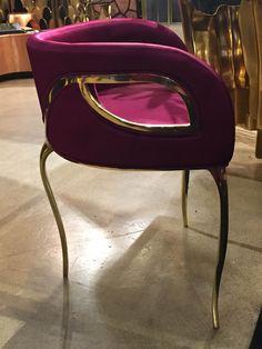 Trend: Pretty Please. The Chandra Chair by Koket/DeMorais International, IH409-IHFC. #HPMKT #hpmktSS #hpmktcoveredinkryptonhome