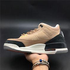 4720c875635 Justin Timberlakes Air Jordan 3 JTH NRG Bio Beige Suede AV6683 200 In Hand  Right-