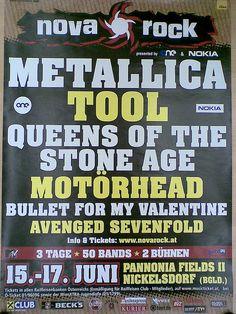 Nova Rock 2006 - official festival poster by Michal Stankoviansky, via Flickr