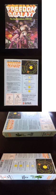 Vintage Manufacture 19100: Freedom In The Galaxy Avalon Hill Bookcase Game -> BUY IT NOW ONLY: $99.99 on eBay!